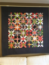 Blushing Peonies Quilt Kit
