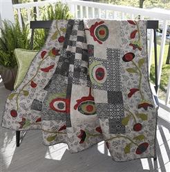 Front Porch Affair Quilt Model