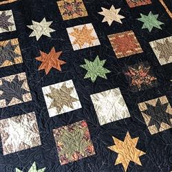 Autumn Stars Quilt KIT
