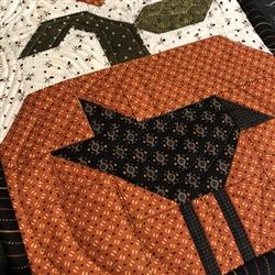 NEW Fall 2020 Pie Birds 4 Table Runner Kit