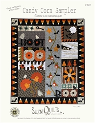 Suzn Quilts CANDY CORN SAMPLER Quilt Kit