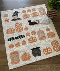 Witch's Night Out NO BOOK Quilt KIT
